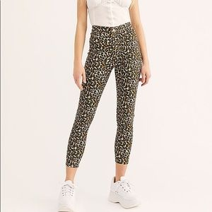 FreePeople Leapord Belle Pants